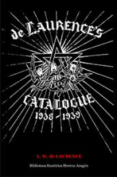 de Laurence's 1938-1939 catalogue of Occult and Mystical Books | de Laurence, L. W.